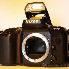 Cámara de fotos: NIKON F70 - (CUERPO) REFLEX AUTOFOCUS - QUARTZ DATE PANORAMA - EXCELENTE ESTADO Y FUNCIONANDO. Lote 26733974
