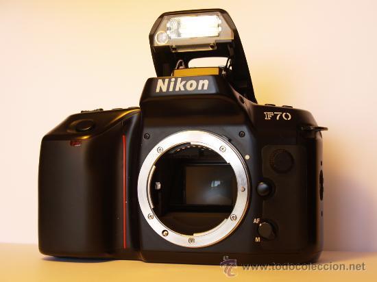 NIKON F70 - (CUERPO) REFLEX AUTOFOCUS - EXCELENTE ESTADO Y FUNCIONANDO (Cámaras Fotográficas - Réflex (autofoco))