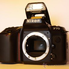 Cámara de fotos: NIKON F70 - (CUERPO) REFLEX AUTOFOCUS - EXCELENTE ESTADO Y FUNCIONANDO. Lote 26733975