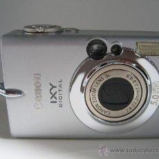 Cámara de fotos: CANON IXY DIGITAL 500 IMPECABLE - FABRICADA EN JAPON. Lote 17809491