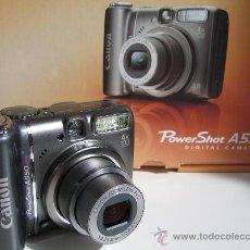 Cámara de fotos: CANON POWER SHOT A590 IS DIGITAL- MINT NUEVA EMBALADA. Lote 17810984