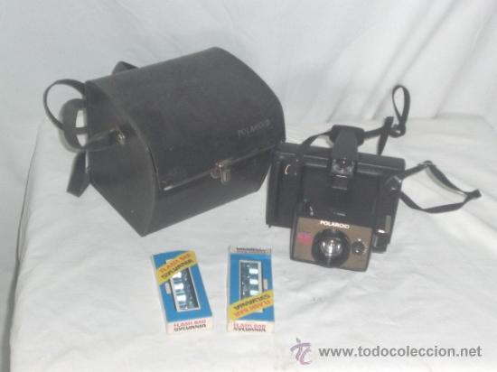 CÁMARA DE FOTOS - POLAROID E.E.44 -. (Cámaras Fotográficas - Réflex (autofoco))