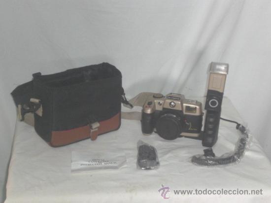 CÁMARA DE FOTOS OLIMPIA, DE LUXE CAMERA SET. (Cámaras Fotográficas - Réflex (autofoco))