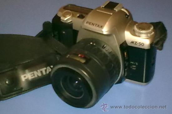 Cámara de fotos: Cámara Reflex analógica autofoco PENTAX MZ-50 + 2º objetivo intercambiable SIGMA 100-300mm - Foto 2 - 25965537