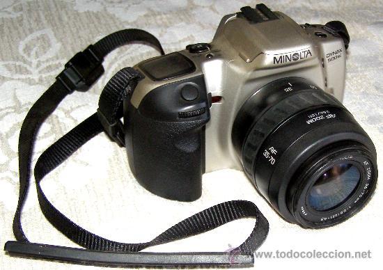 MINOLTA DINAX 500SI + AF ZOOM 35-70 (Cámaras Fotográficas - Réflex (autofoco))