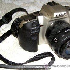 Cámara de fotos: MINOLTA DINAX 500SI + AF ZOOM 35-70. Lote 27289395