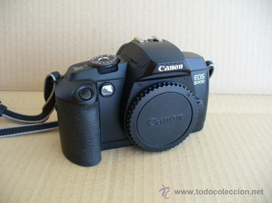 CANON EOS 5000 ( CUERPO) GASTOS DE ENVIO 10€ PENINSULA Y BALEARES RESTO CONSULTAR. (Cámaras Fotográficas - Réflex (autofoco))