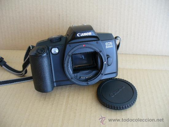 Cámara de fotos: CANON EOS 5000 ( CUERPO) GASTOS DE ENVIO 10€ PENINSULA Y BALEARES RESTO CONSULTAR. - Foto 2 - 27458396