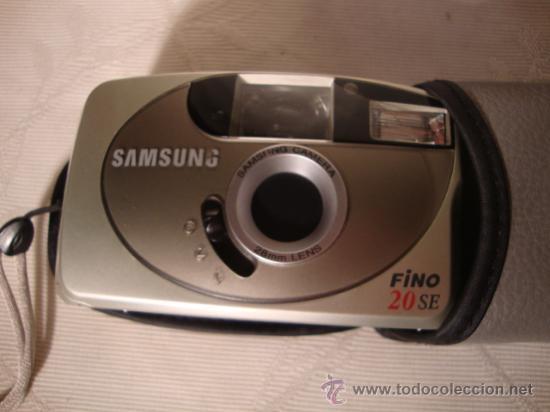 Cámara de fotos: CAMARA DE FOTOS SAMSUNG FINO 20SE, 28mm FOCUS FREE CAMERA, EN SU CAJA Y FUNDA ORIGINAL CASI SIN USO. - Foto 5 - 28887039