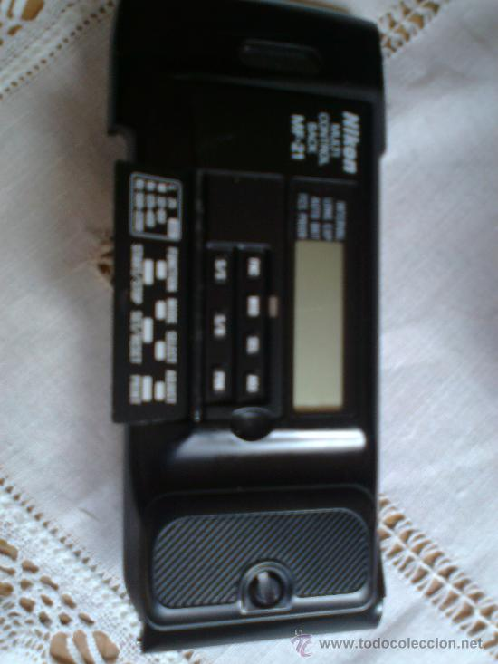 Cámara de fotos: Nikon 801 con objetivo 35-70 mm. 2,8 y respaldo fechador multiple con intervalometro y flash - Foto 3 - 29109584