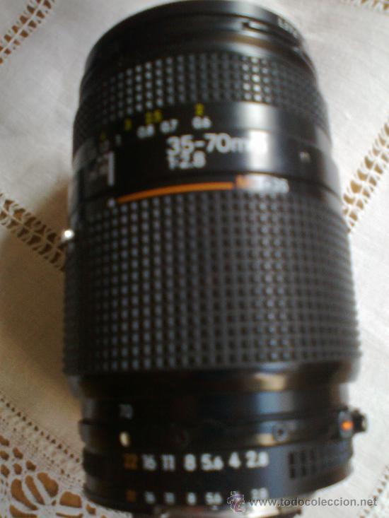 Cámara de fotos: Nikon 801 con objetivo 35-70 mm. 2,8 y respaldo fechador multiple con intervalometro y flash - Foto 4 - 29109584