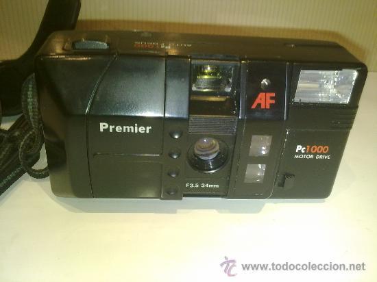 ANTIGUA CAMARA PREMIER PC1000 DE CONSERVACION CON FUNDA (Cámaras Fotográficas - Réflex (autofoco))