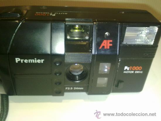Cámara de fotos: antigua camara premier PC1000 de conservacion con funda - Foto 6 - 29531047