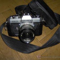 Cámara de fotos: CAMARA REFLEX YASHICA FX -2 - CON FUNDA ORIGINAL . Lote 29554031