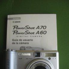 Cámara de fotos: CANON POWER SHOT A 60. AVERIADA.. Lote 30095811