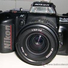 Cámara de fotos: CÁMARA REFLEX AUTOFOCUS NIKON F 401 S. Lote 30457358