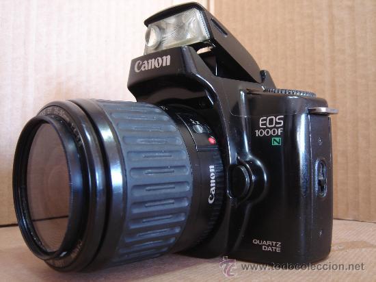 CAMARA DE FOTOS 35 MM - CANON EOS 1000F + OBJ. EF ZOOM 38-80 - ¡¡FUNCIONANDO ¡¡¡ (Cámaras Fotográficas - Réflex (autofoco))