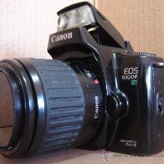 Cámara de fotos: CAMARA DE FOTOS 35 MM - CANON EOS 1000F + OBJ. EF ZOOM 38-80 - ¡¡FUNCIONANDO ¡¡¡. Lote 30644423