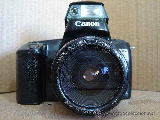 Cámara de fotos: CAMARA DE FOTOS 35 MM - CANON EOS 1000F + OBJ. EF ZOOM 38-80 - ¡¡FUNCIONANDO ¡¡¡ - Foto 2 - 30644423