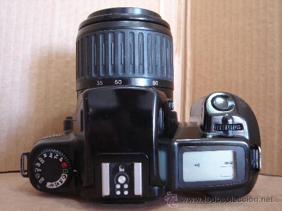 Cámara de fotos: CAMARA DE FOTOS 35 MM - CANON EOS 1000F + OBJ. EF ZOOM 38-80 - ¡¡FUNCIONANDO ¡¡¡ - Foto 8 - 30644423
