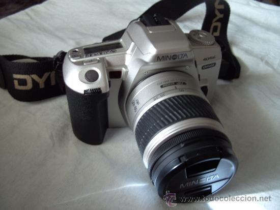 REFLEX MINOLTA DINAX 404SI (Cámaras Fotográficas - Réflex (autofoco))