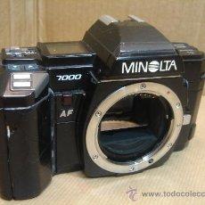 Cámara de fotos: CUERPO CAMARA 35 MM - MINOLTA 7000 AF - PARA REPARAR O COLECCION . Lote 30917270