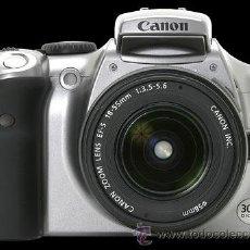 Cámara de fotos: CANON 300D DIGITAL CON OBJETIVO EF-S 18-55 F/3,5-5,6. Lote 31188667