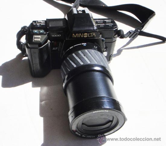 Cámara de fotos: CAMARA MINOLTA 7000 AF CON OBJETIVO 80/200 TAMBIEN MINOLTA - Foto 2 - 31250391