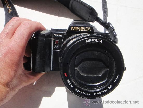 Cámara de fotos: CAMARA MINOLTA 7000 AF CON OBJETIVO 80/200 TAMBIEN MINOLTA - Foto 3 - 31250391