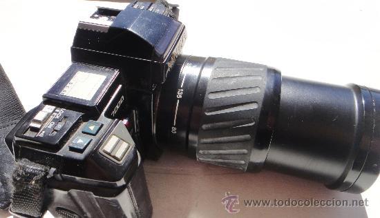 Cámara de fotos: CAMARA MINOLTA 7000 AF CON OBJETIVO 80/200 TAMBIEN MINOLTA - Foto 4 - 31250391