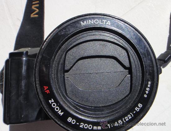 Cámara de fotos: CAMARA MINOLTA 7000 AF CON OBJETIVO 80/200 TAMBIEN MINOLTA - Foto 5 - 31250391