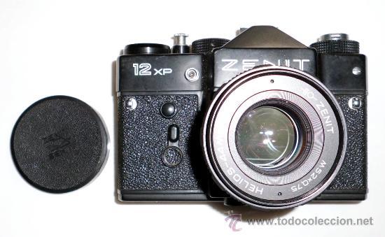 CÁMARA FOTOGRÁFICA ZENIT 12 XP + HELIOS 44W-4 (Cámaras Fotográficas - Réflex (autofoco))