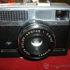 Cámara de fotos: AGFA OPTIMA 200 SENSOR...ALEMANIA 1969..EN SU FUNDA ORIGINAL Y FUNCIONANDO. Lote 31661724