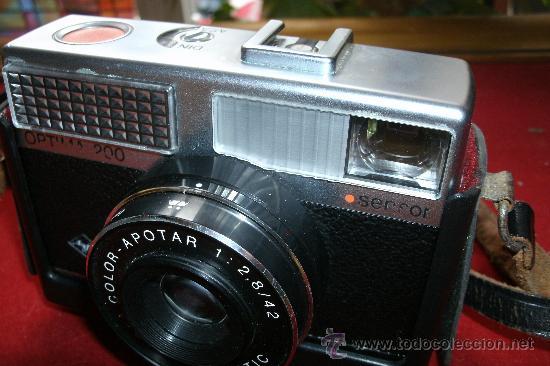 Cámara de fotos: AGFA OPTIMA 200 sensor...ALEMANIA 1969..EN SU FUNDA ORIGINAL Y FUNCIONANDO - Foto 15 - 31661724