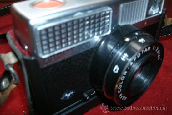 Cámara de fotos: AGFA OPTIMA 200 sensor...ALEMANIA 1969..EN SU FUNDA ORIGINAL Y FUNCIONANDO - Foto 14 - 31661724