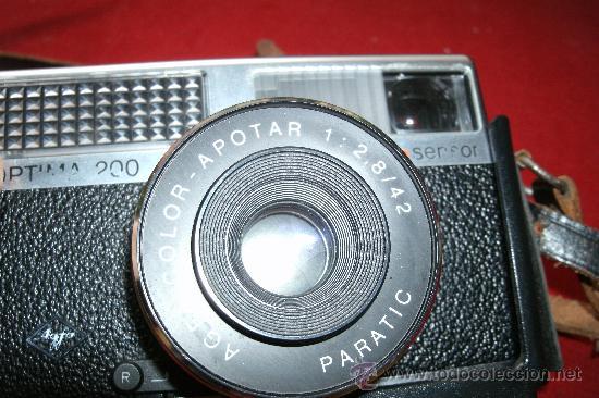 Cámara de fotos: AGFA OPTIMA 200 sensor...ALEMANIA 1969..EN SU FUNDA ORIGINAL Y FUNCIONANDO - Foto 13 - 31661724