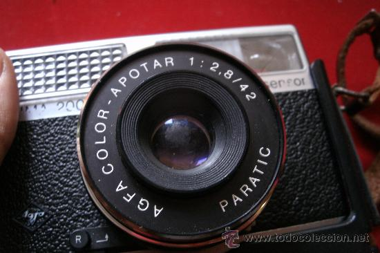Cámara de fotos: AGFA OPTIMA 200 sensor...ALEMANIA 1969..EN SU FUNDA ORIGINAL Y FUNCIONANDO - Foto 11 - 31661724