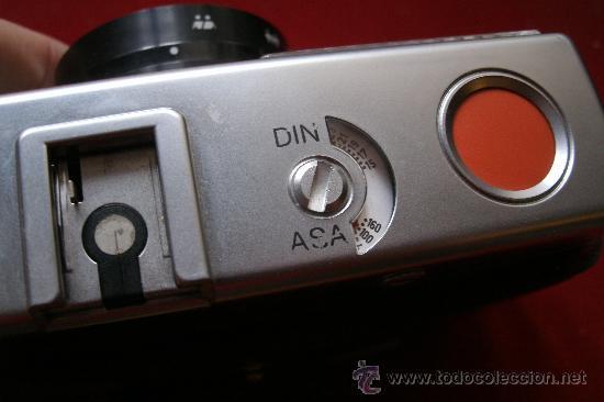 Cámara de fotos: AGFA OPTIMA 200 sensor...ALEMANIA 1969..EN SU FUNDA ORIGINAL Y FUNCIONANDO - Foto 9 - 31661724