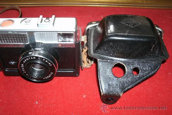 Cámara de fotos: AGFA OPTIMA 200 sensor...ALEMANIA 1969..EN SU FUNDA ORIGINAL Y FUNCIONANDO - Foto 7 - 31661724