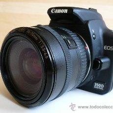 Cámara de fotos: CANON EOS 350 D CON OBJETIVO CANON ZOOM + PILA + CARGADOR -PERFECTO ESTADO- . Lote 41019529