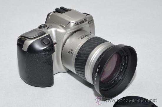 MINOLTA DINAX 500SI + MINOLTA AF-28-80MM (Cámaras Fotográficas - Réflex (autofoco))