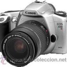 Cámara de fotos: ULTIMO MODELO CANON EOS 3000V.FILM CAMARA. Lote 32719446