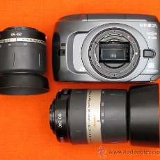 Cámara de fotos: MINOLTA VECTIS S-100 + 0BJETIVO 28-56 + 80-240 APO. Lote 32822127