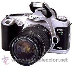 CANON EOS 500 N ANALOGICA CON OBJETIVOS 28/80MM Y 80/200MM (Cámaras Fotográficas - Réflex (autofoco))