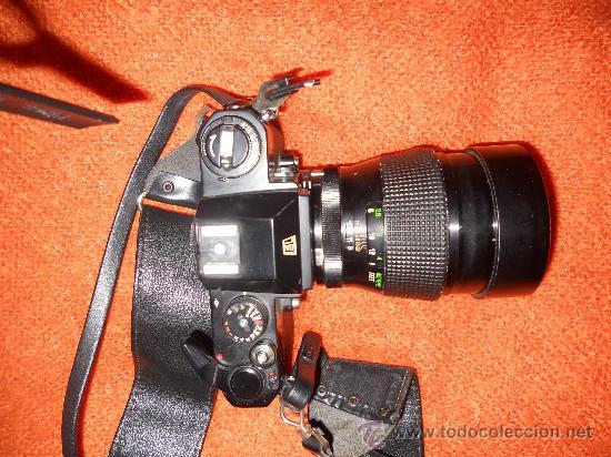 ANTIGUA MAQUINA DE FOTOGRAFIAR REFLEX EL. NIKKORMAT PARA COLECIONISTAS (FUNCIONA ). (Cámaras Fotográficas - Réflex (autofoco))
