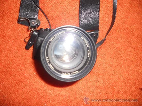 Cámara de fotos: ANTIGUA MAQUINA DE FOTOGRAFIAR REFLEX EL. NIKKORMAT PARA COLECIONISTAS (FUNCIONA ). - Foto 12 - 33762386