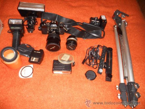Cámara de fotos: ANTIGUA MAQUINA DE FOTOGRAFIAR REFLEX EL. NIKKORMAT PARA COLECIONISTAS (FUNCIONA ). - Foto 18 - 33762386