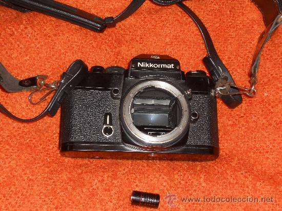 Cámara de fotos: ANTIGUA MAQUINA DE FOTOGRAFIAR REFLEX EL. NIKKORMAT PARA COLECIONISTAS (FUNCIONA ). - Foto 22 - 33762386