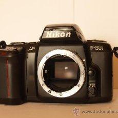 Cámara de fotos: NIKON F-601 AUTOFOCUS (CUERPO) / FUNCIONANDO Y EN EXCELENTE ESTADO. Lote 34484166
