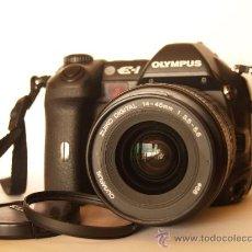 Cámara de fotos: OLYMPUS E-1 / OBJETIVO ZUIKO 14-45 / EXCELENTE ESTADO. Lote 45571882